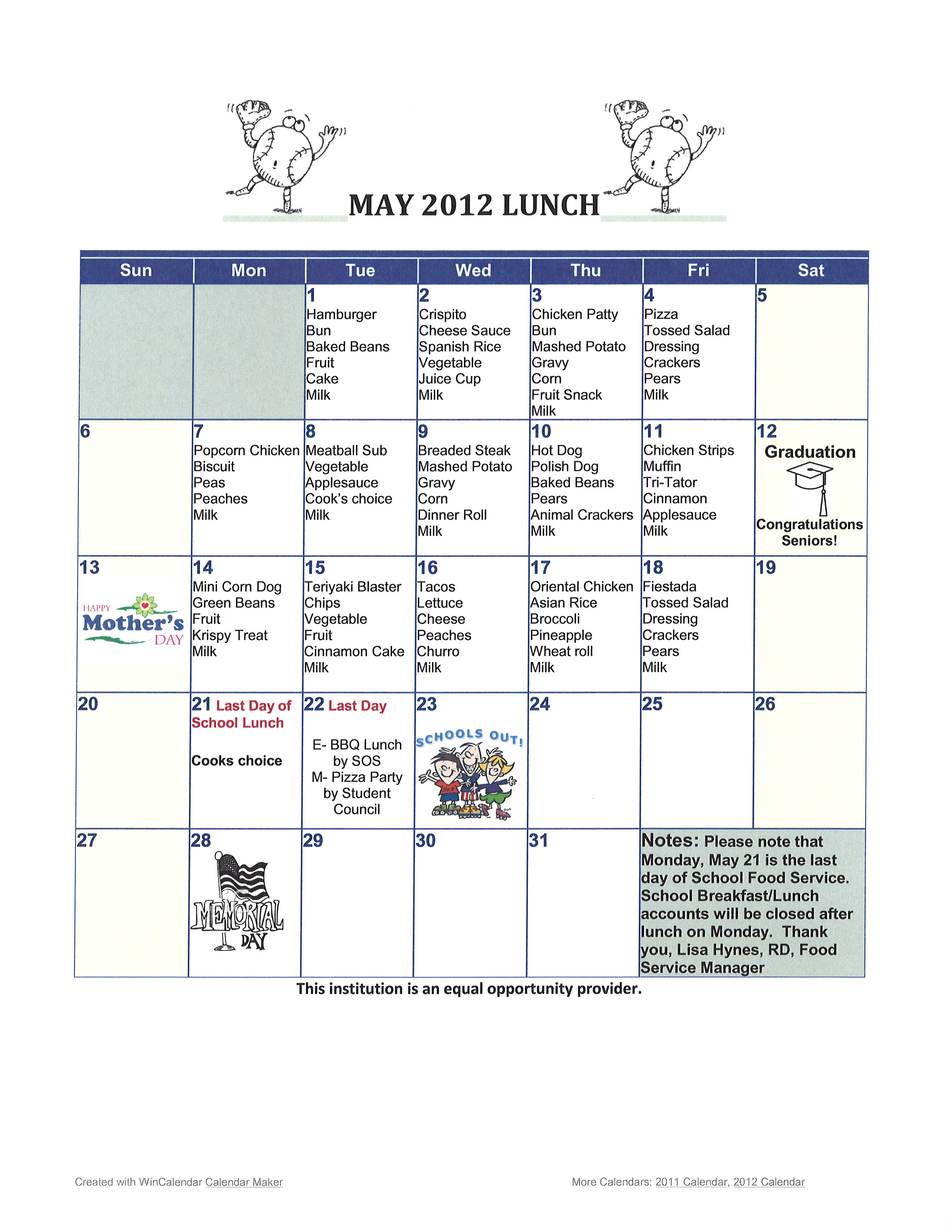 May Menu_Lunch