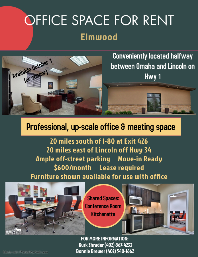 Office for Rent Office 1 Aug 2021
