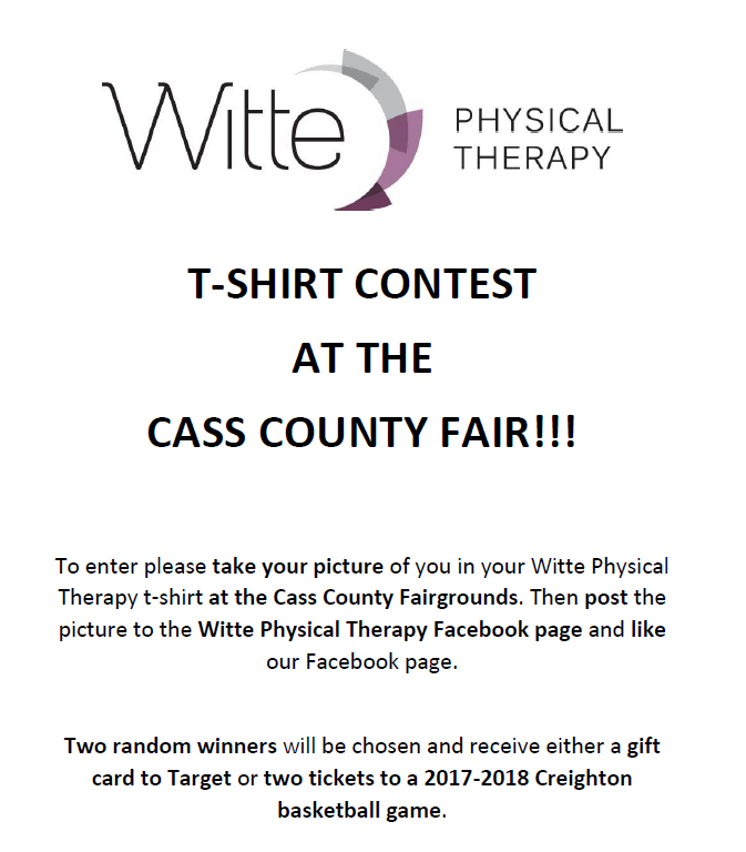 WittePhysical Therapy ShirtContest