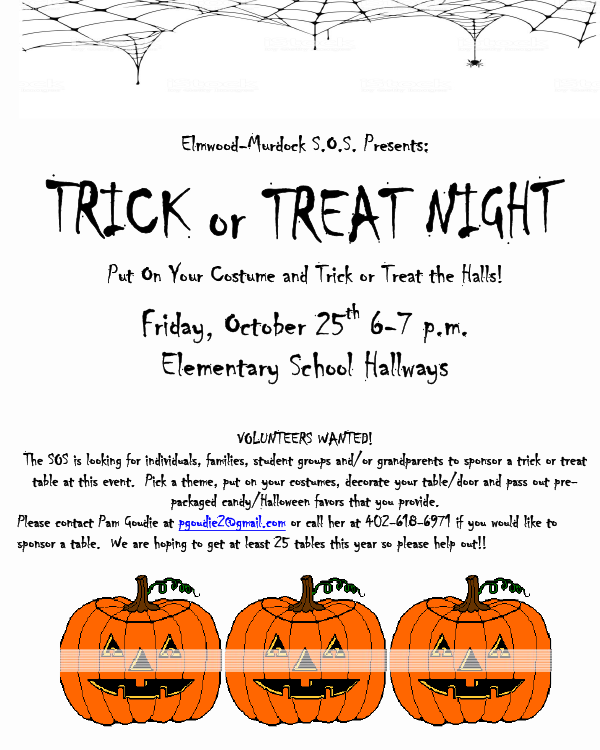Trick or Treat 2019 Flyer